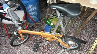 Bicicleta Plegable Rodado 14 Langtu Nueva Para Niño O Adulto