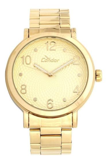 Relógio Condor Feminino Dourado Co2035kmv4d