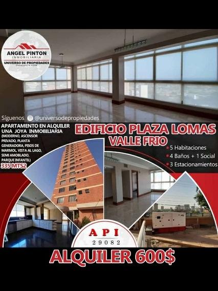 Apartamento En Alquiler, Valle Frío Kerlsy Villalobos