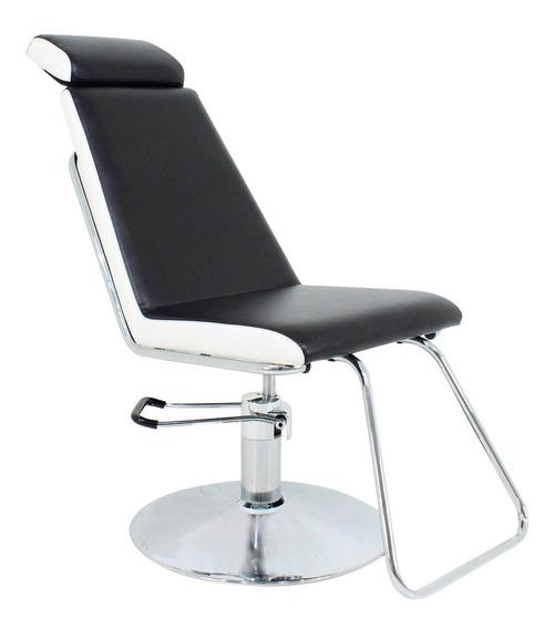 Cadeira De Maquiagem Belize Encosto Fix Com Cabeçote Kixiki