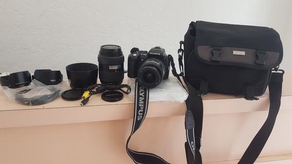 Câmera Fotográfica Profissional Olympus E-500 Seminova
