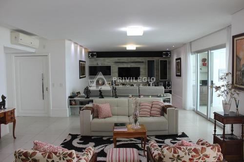 Imagem 1 de 30 de Apartamento À Venda, 4 Quartos, 4 Suítes, 3 Vagas, Barra Da Tijuca - Rio De Janeiro/rj - 816
