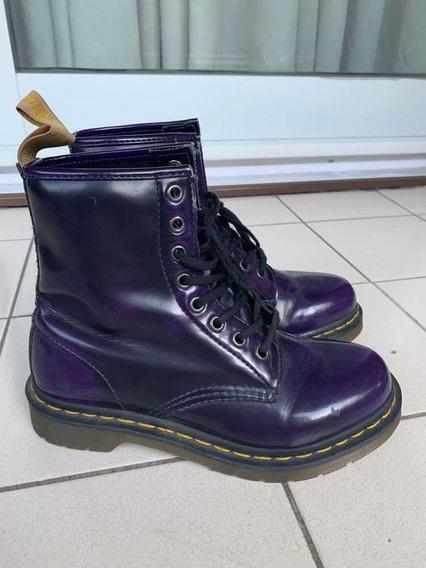 Dr. Martens Originales Color Violeta Talle 37