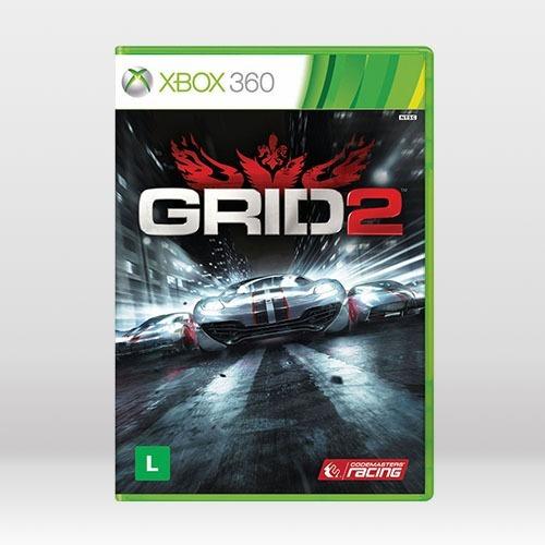 Grid 2 - Original Para Xbox 360 Novo
