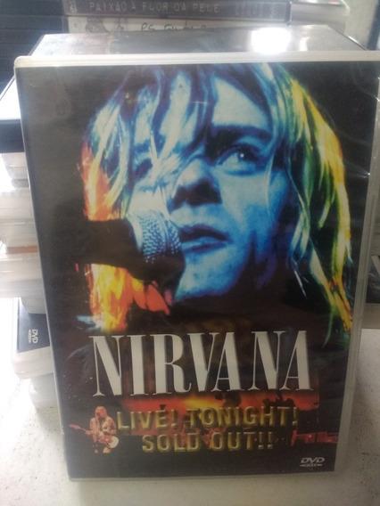 Nirvana Live!tonight!sold Out! Dvd Original