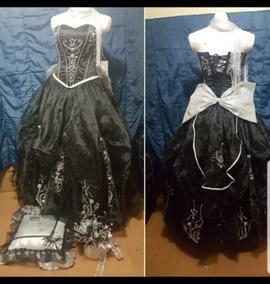 Vestido Xv Años Negro M