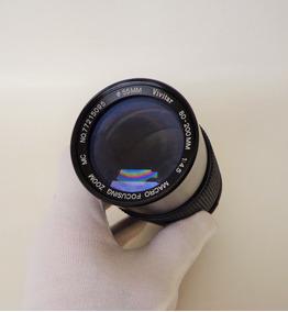 Lente Vivitar 80-200 Mm /1:4.5 Macro Zoom (p/olympus Om)