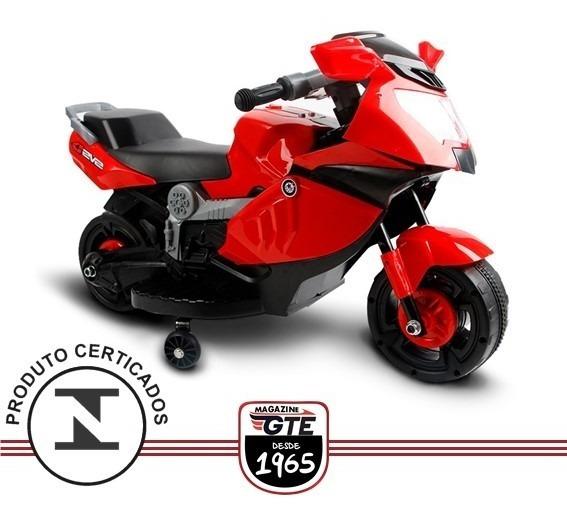 Mini Moto Elétrica Infantil Criança 6v Até 25 Kg Inmetro