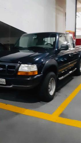 Imagem 1 de 12 de Ford Ranger 2000 2.5 Cab. Dupla 4x2 4p Gasolina