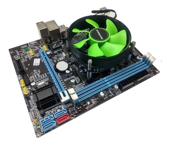 Kit Upgrade Placa Mãe + Processador I5 3.40ghz Promoção