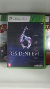 Jogo Para Xbox 360: Resident Evil 6. Com Frete Grátis!