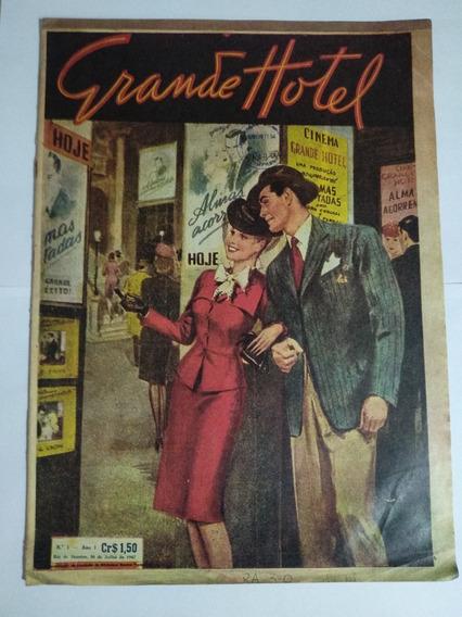 Revista Grande Hotel N° 01 - 1947 - Primeira Edição