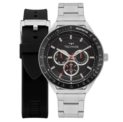 Relógio Technos Masculino Analógico Skymaster + Pulseira