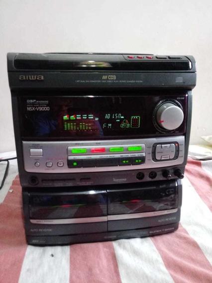 Som Aiwa Nsx V9000( Apenas A Central)