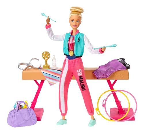 Barbie Careers Set Gimnasta Muñeco Para Niñas