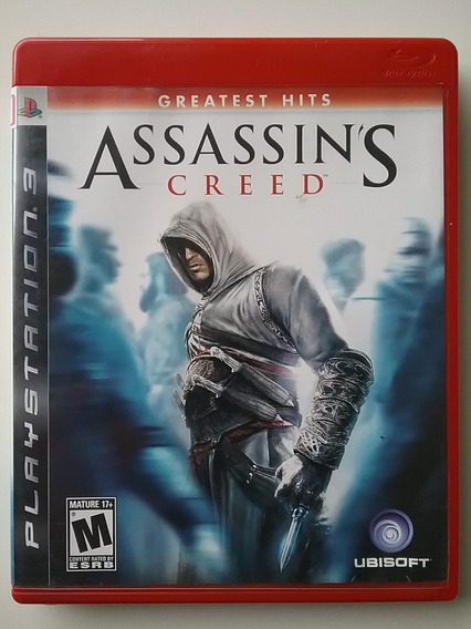 Assassins Creed 1 Ps3 Mídia Física Original Perfeito