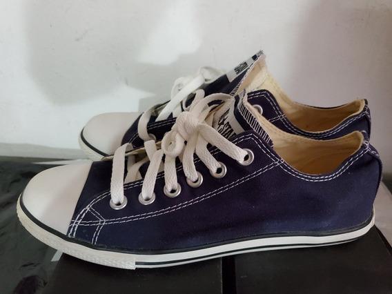 Zapatos Converse All Star Originales Nuevos Azul 7/5