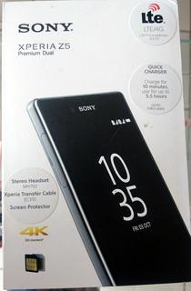 Sony Xperia Z5 Premium Dual 6833 - Preto 5.5 Pp - Semi Novo