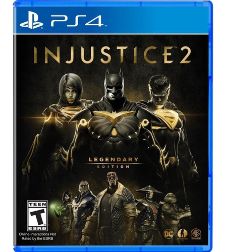 Imagen 1 de 1 de Injustice 2 Legendary Edition Playstation 4