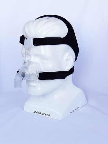 Fixador Nacional Em Neoprene Para Máscara Nasal Mirage Fx