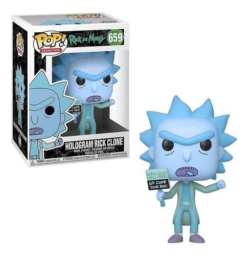 Hologram Rick Clone - Funko Pop Original