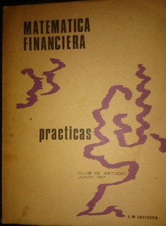 Matematica Financiera Prácticas