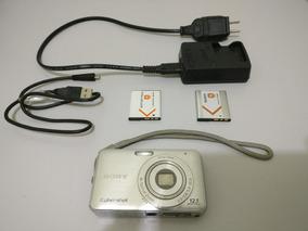Camera Sony Ciber-shot Dsc-w310+2 Baterias+stick Mem16gb