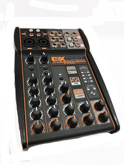 Mesa De Som Automotivo Expert Mx-2 12v Stereo P10 Aux Mx2