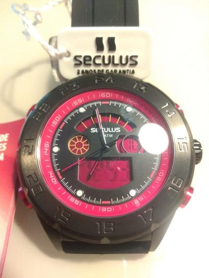 Relógio Seculus 20220gpsvpu1 Masculino Analógico E Digital