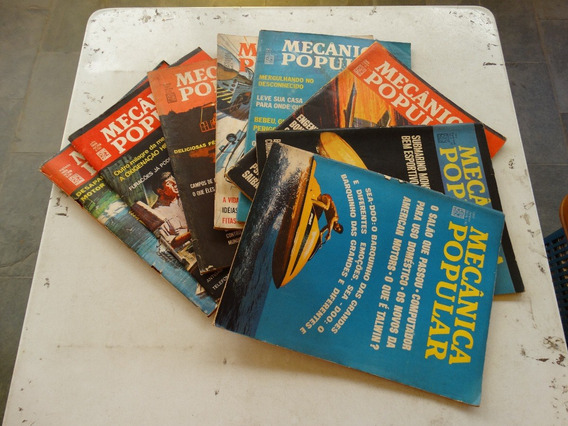 Revista Mecânica Popular! Várias! R$ 50,00 Cada! 1969!