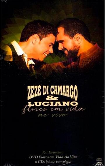 Zezé Di Camargo & Luciano Flores Em Vida - Dvd + 2 Cds Sert