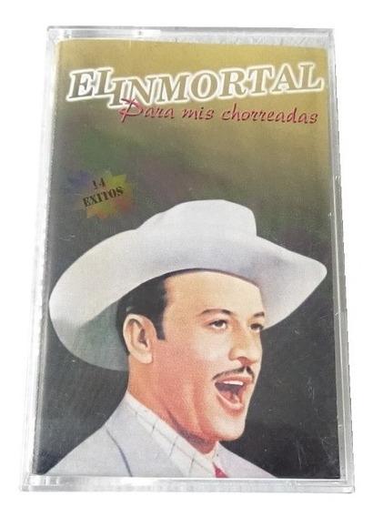 El Inmortal Para Mis Chorreadas 14 Exitos Cassette Dco 1999