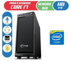 Computador Tob High Plus Com Intel Core I7 Hd 1tb 8gb