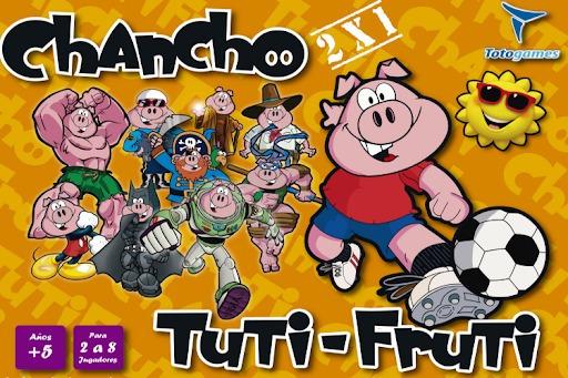 Tutti Fruti / Chancho Va - Juego De Mesa - Toto Games