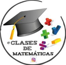 Clases Particulares De Matemáticas Individuales Y Grupales