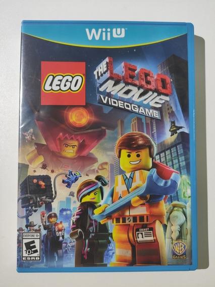 Lego Movie Videogame Mídia Física Americano Wii U Seminovo