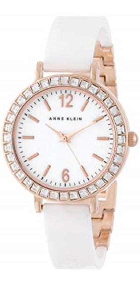 Reloj Anne Klein Dama Acero Ceramica