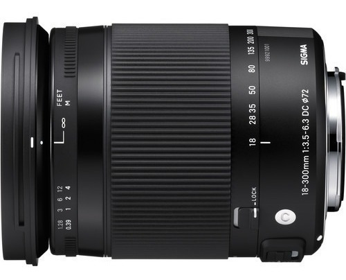 Sigma18-300mm F/3.5-6.3 Dc Macro Os Hsm Contemporary P/nikon