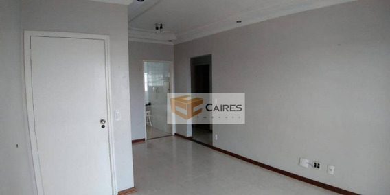 Apartamento Com 3 Dormitórios À Venda, 82 M² Por R$ 390.000 - Jardim Paulicéia - Campinas/sp - Ap6982