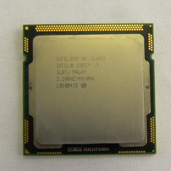 Processador Intel I5 650 3.20ghz Desktop Gamer - Usado