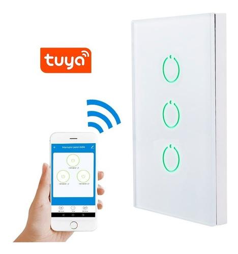 Interruptor Wifi Inteligente Triple Control Desde Celular