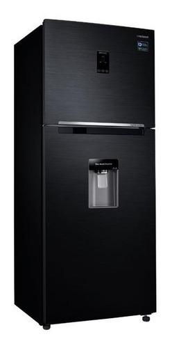 Heladera Samsung Inverter Rt38k5932bs 396lt Black Dispenser
