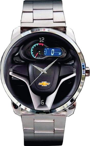 Relógio De Pulso Personalizado Volantepainel Chevrolet Onix