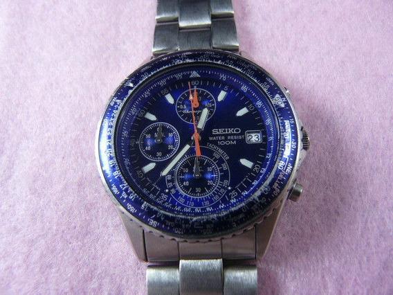 Relógio Vitage Seiko Cronômetro, Completo, Quartz Raro.
