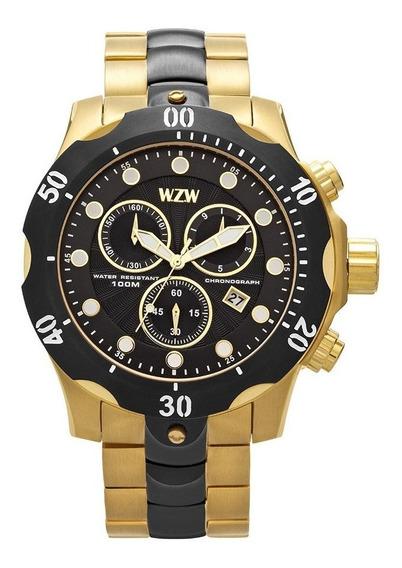 Relógio De Pulso Wzw Casual 7241