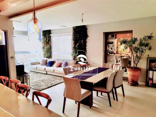 Apartamento Com 2 Dormitórios À Venda, 133 M² Por R$ 949.000,00 - Jardim Bela Vista - Santo André/sp - Ap16601