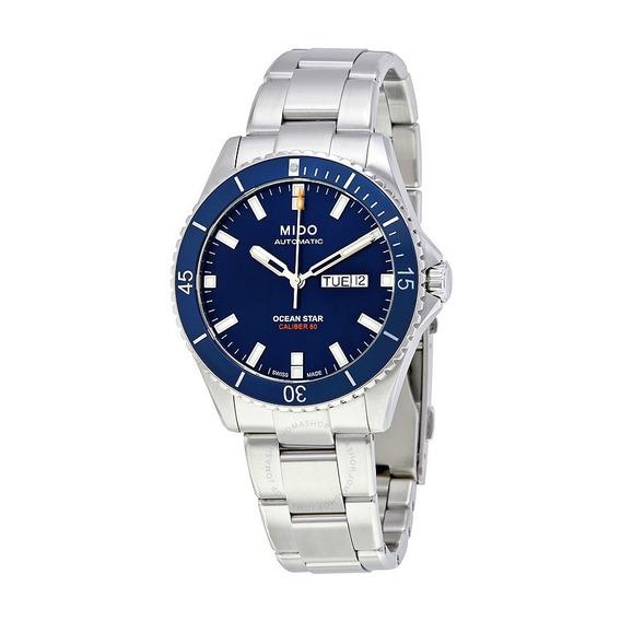 Relógio Mido M026.430.11.041.00 Ocean Star Azul Automatico