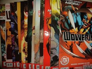 Nova Marvel Wolverine 1 A 14 Completa Panini Frete Gratis