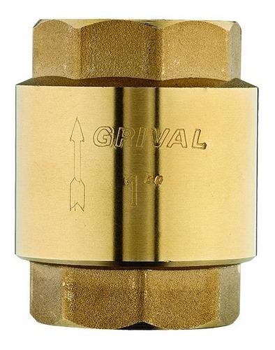 Cheque Hidro Vertical De 1/2 Grival