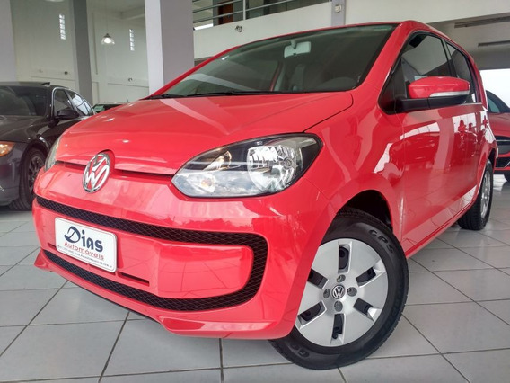 Volkswagen Up! 1.0 Mpi Move 2015 Vermelha Flex